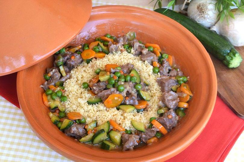 Cuscus manzo e verdure