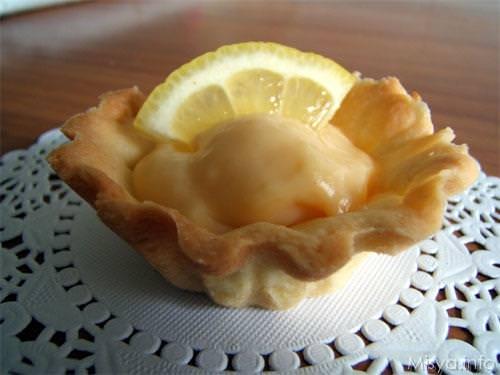 Cestini con crema al limone