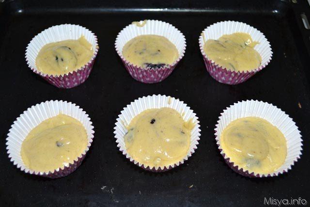 7 riempire pirottini per muffin