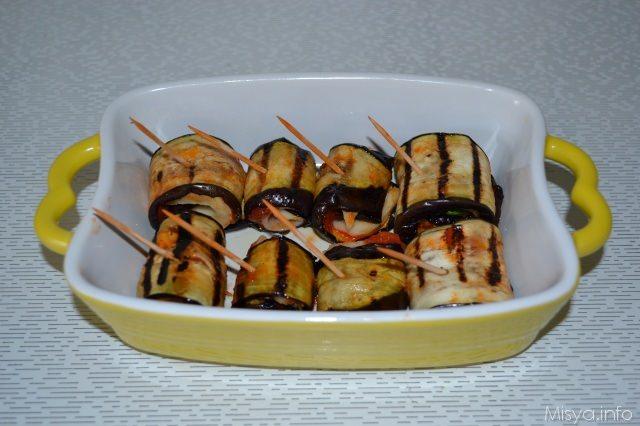involtini di melanzane - ricetta involtini di melanzane di misya - Come Cucinare Le Melenzane