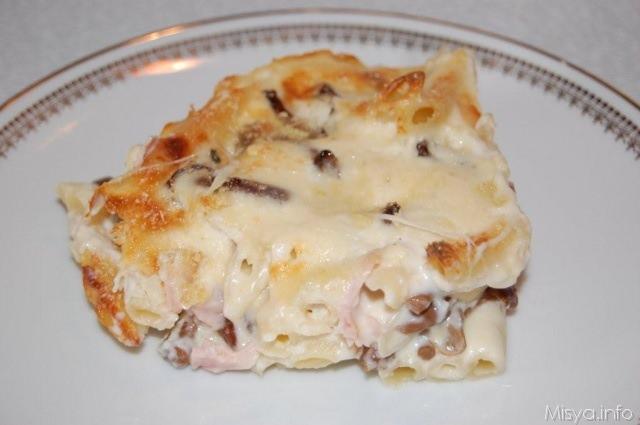 Ricetta pasta a forno con besciamella