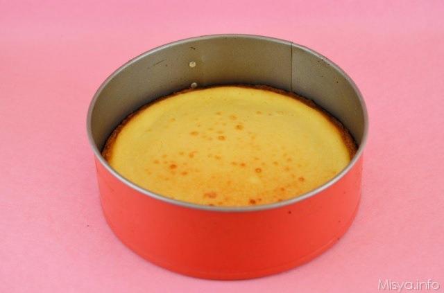 infornare la cheese cake