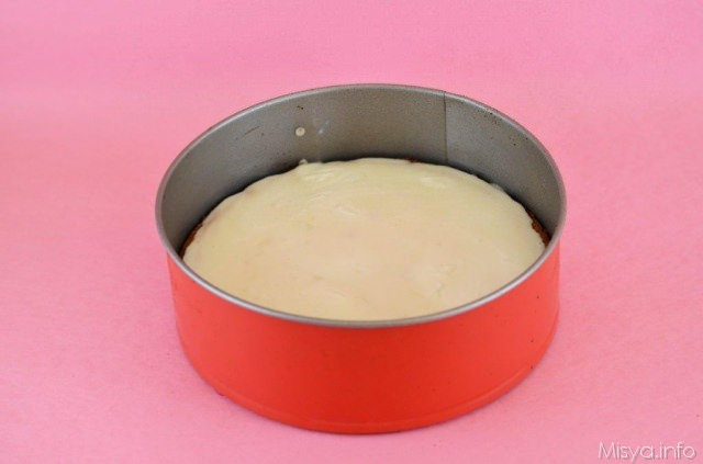 cheesecake glassato