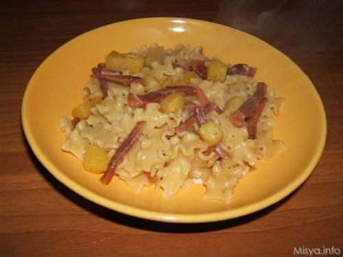 Reginette speck e patate