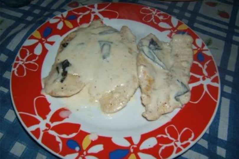Petti di pollo alla grappa