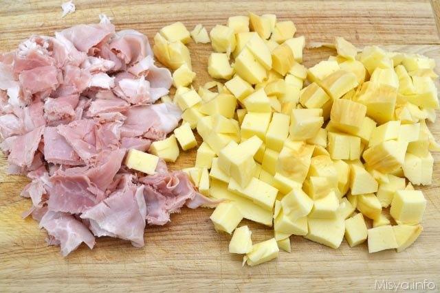 2 prochiutto e formaggio