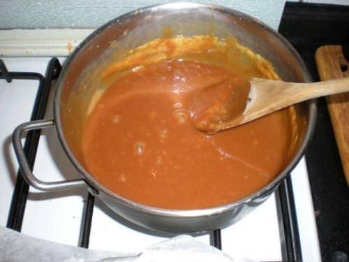 Caramello e salsa al caramello