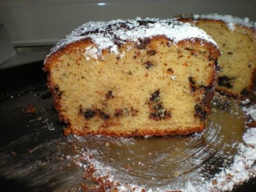 Plum cake al cioccolato