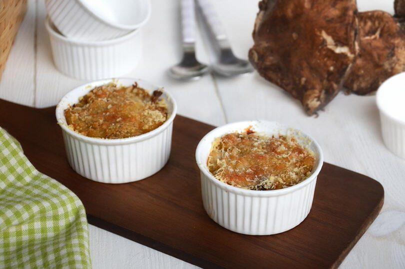 Sformatini di funghi porcini e patate