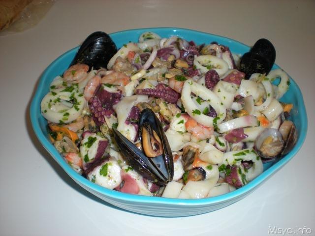 Ricette insalate con il pesce