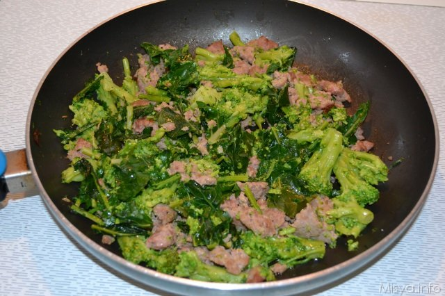 Ricette pasta di salsiccia e broccoli