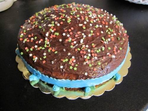 Torta magica alla nutella ricetta torta magica alla for Decorazioni torta compleanno
