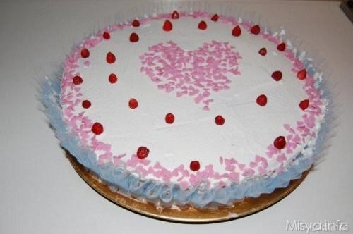 Ricette  Torta panna e fragoline