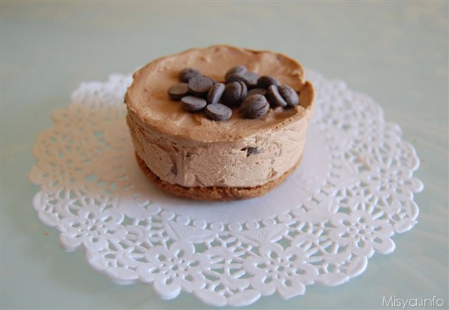Mini cheese cake al cioccolato