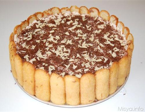Torta gelato gianduia e mandorle