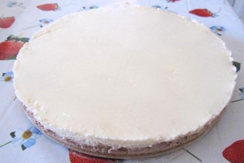 Cheesecake double chocolate