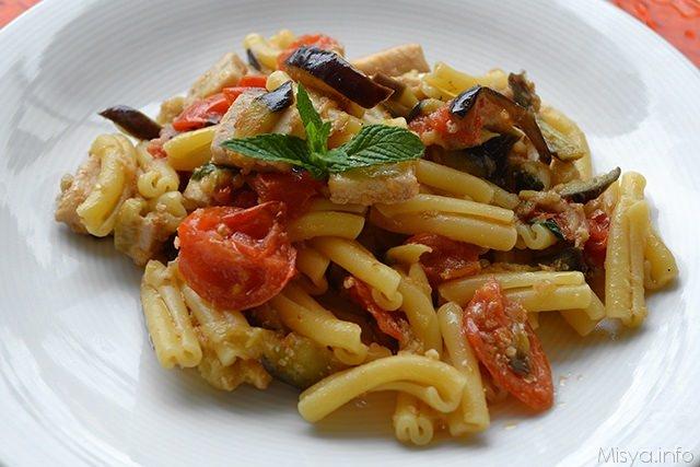 Pasta pesce spada e melanzane ricetta pasta pesce for Cucina italiana pesce
