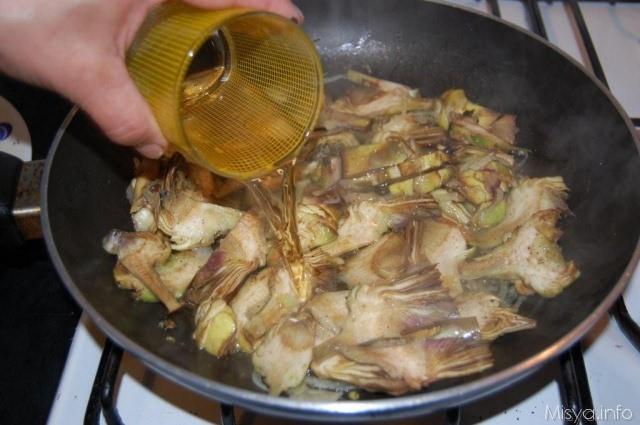 Pasta con i carciofi ricetta pasta con i carciofi di misya for Cucinare i carciofi
