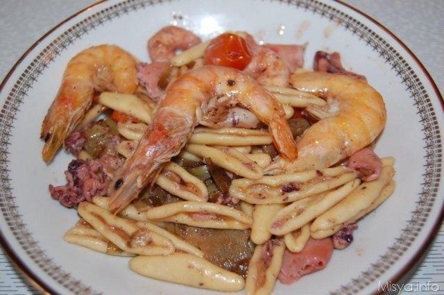 Ricetta pasta al pesce surgelato