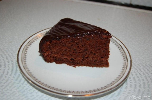 Torta Cioccolato E Pere Misya