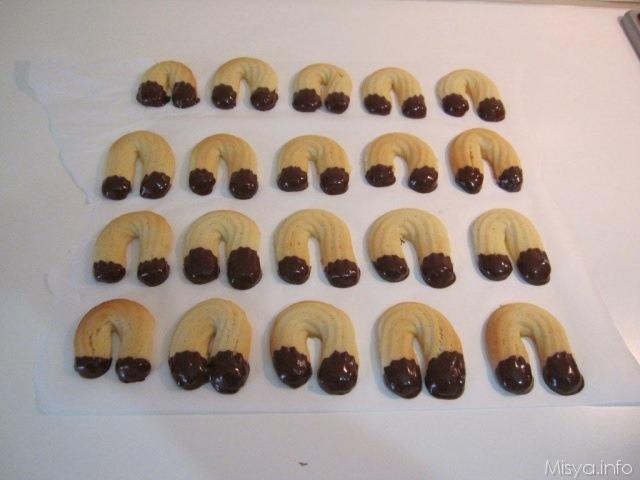 Biscotti di frolla montata - Ricetta Biscotti di frolla montata di Misya
