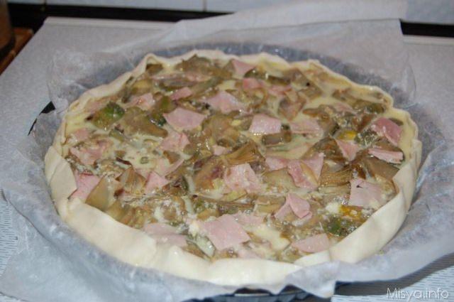 Ricette torte salate con i carciofi