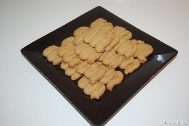 Biscotti di frolla al caffè