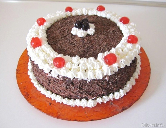 Torta foresta nera - Ricetta Torta foresta nera di Misya