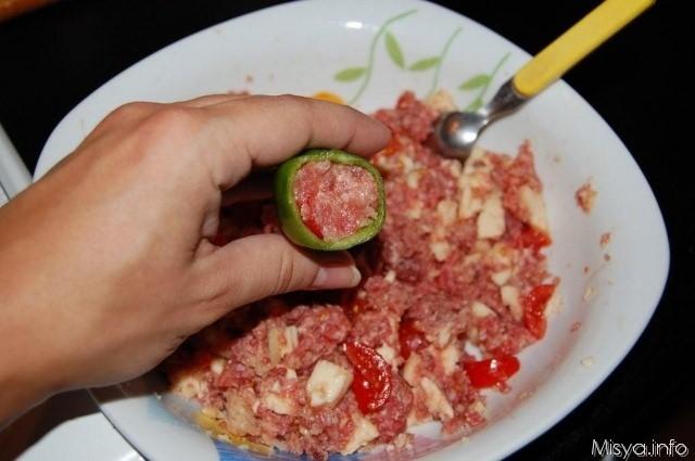 Friggitelli ripieni ricetta friggitelli ripieni di misya for Cucinare friggitelli