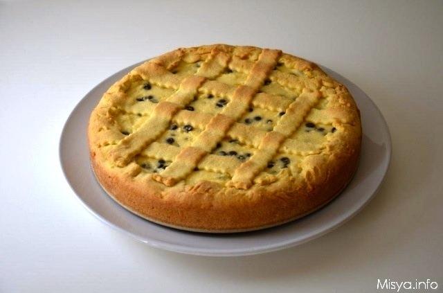 Crostata Con Ricotta E Gocce Di Cioccolato Ricetta Crostata Con