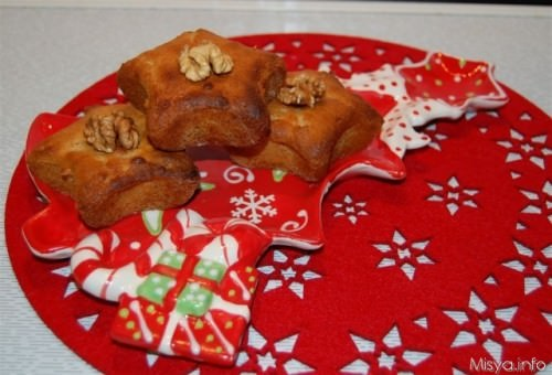 muffin miele e noci