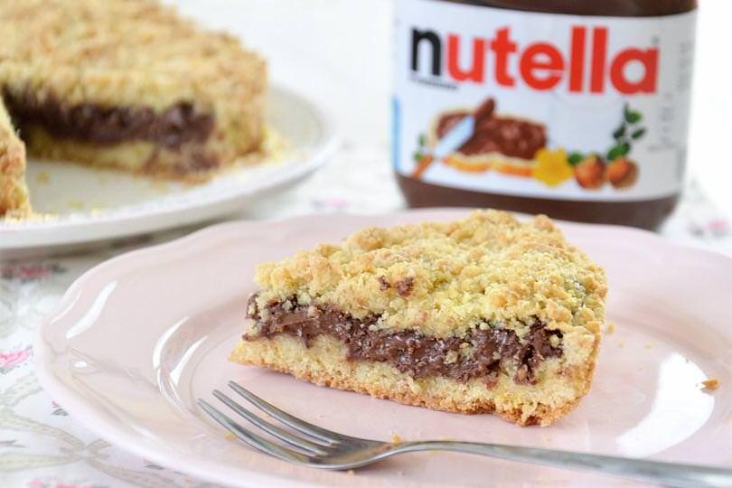 Sbriciolata alla Nutella