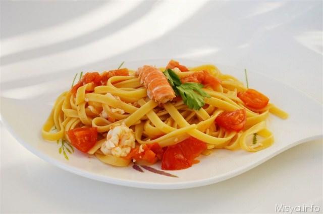 Ricette pasta con gli scampi