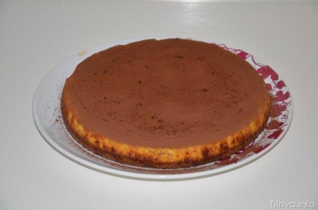 Cheesecake al cioccolato bianco