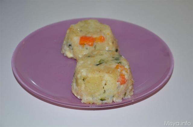 Timballini di riso e verdure