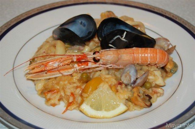 Ricette spagnole Paella de marisco