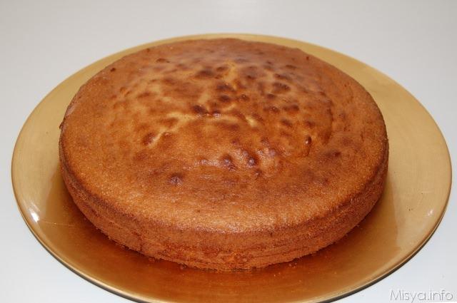 Pan di Spagna bimby