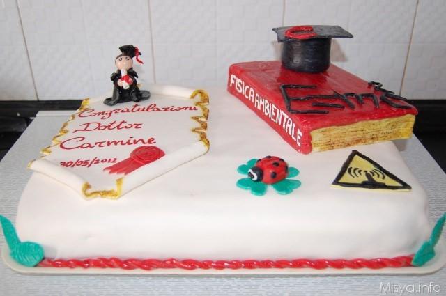 Torta Di Laurea Con Pasta Di Zucchero Ricetta Torta Di