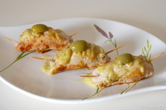 ricette Involtini alle olive