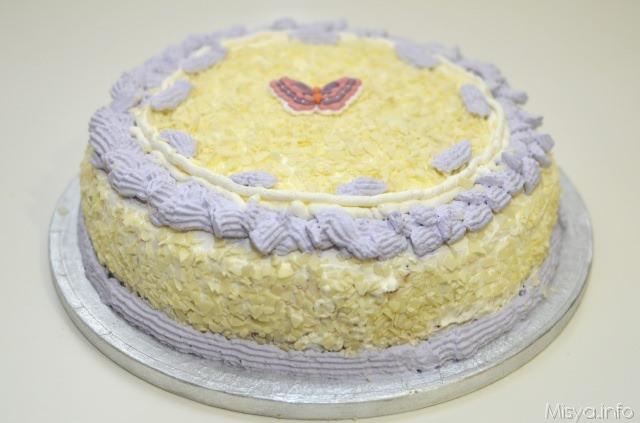 Torta al cioccolato bianco - Ricetta Torta al cioccolato bianco di Misya