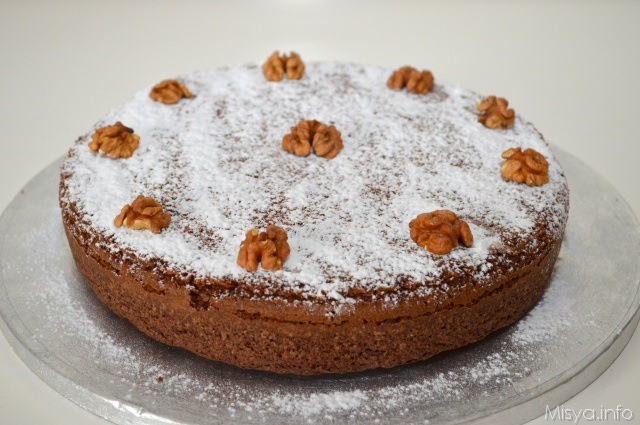 Ricette bimby torta mele e noci
