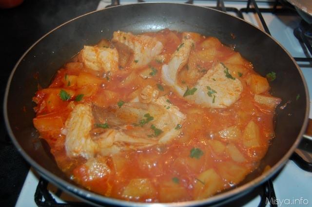 stoccafisso con patate - ricetta stoccafisso con patate di misya - Come Si Cucina Il Baccala