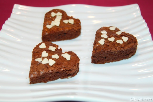 Brownies arancia e mandorle