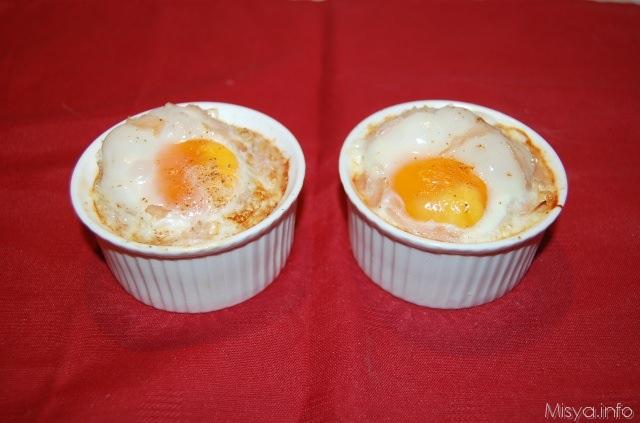 Ricetta uova panna da cucina