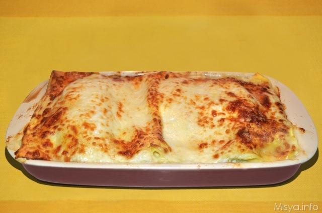 Lasagne ai carciofi ricetta lasagne ai carciofi di misya for Ricette con carciofi