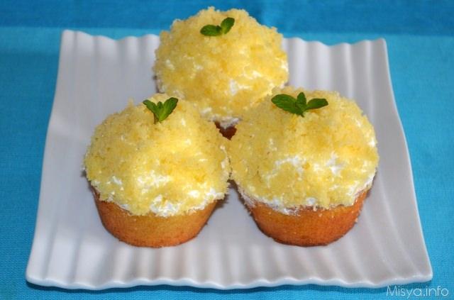 Mimosa Cupcakes Recipe — Dishmaps