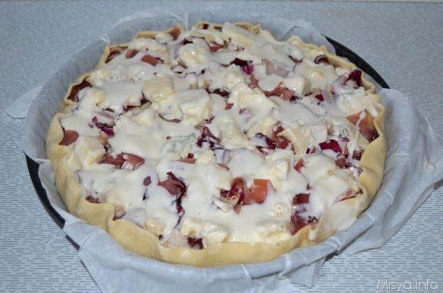 torta salata besciamella
