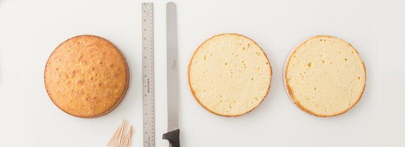Come tagliare il Pan di Spagna - Misya.info