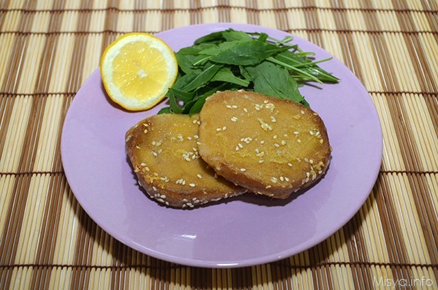 » Seitan limone e zenzero - Ricetta Seitan limone e zenzero di Misya
