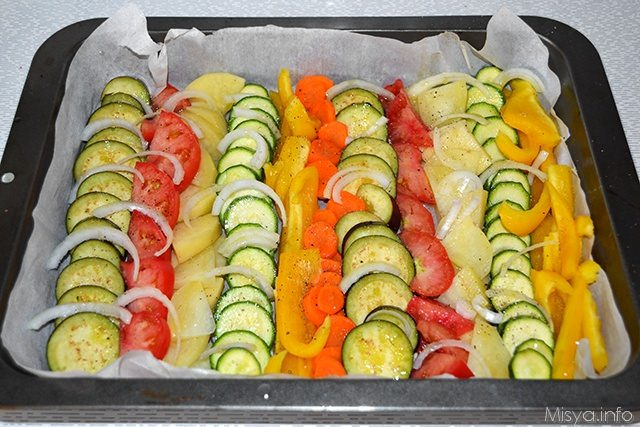 Verdure miste al forno ricette
